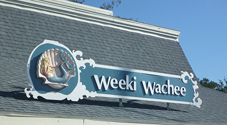 Weeki Wachee Mermaid Sign